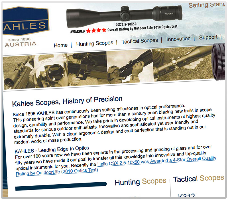 Kahles Optics USA